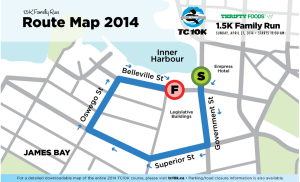 Thrifty Foods 1.5K Family Run Map